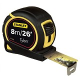 STANLEY Tylon Tape 8M [30-656-20] - Meteran Manual